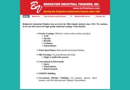 Bridgeview Industrial Finishers Inc