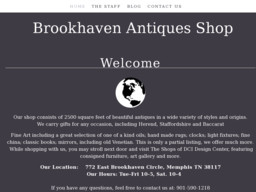 Brookhaven Antiques Shop