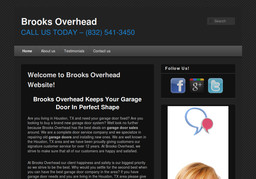 Brooks Overhead On Sands Point Dr In Houston Tx 832 541