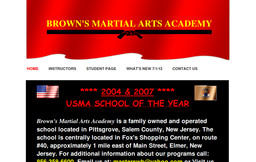 Browns Martial Arts Academy
