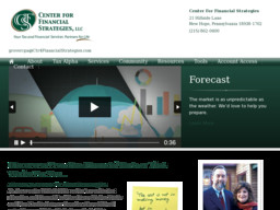 Center For Financial Strategies