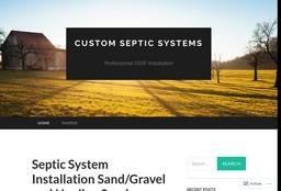 Custom Septic Systems
