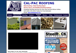 Calpac Roofing On Dell Ave In Campbell Ca 408 370 3332