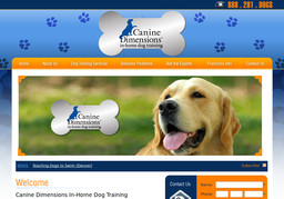 Canine Dimensions Home Dog Training
