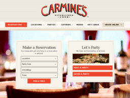 Carmine's Italian Restaurant - Washington DC