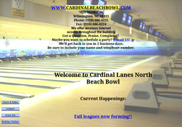 Cardinal Lanes - North