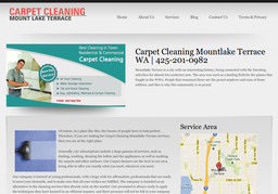 Carpet Cleaning Mountlake Terrace On Lakeview Dr In