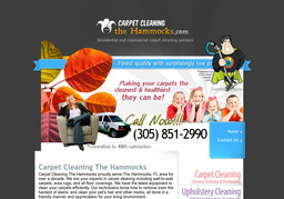 Carpet Cleaning The Hammocks On 104th St In Miami Fl