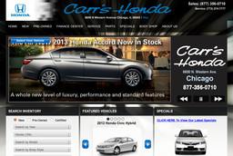 Carrs Honda Center