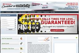 Central City Toyota Inc