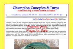 Champion Canopies & Tarps