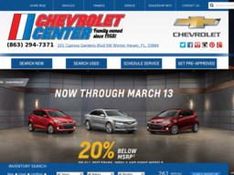 Chevrolet Center, INC of Winter Haven