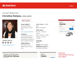 Christine Relyea Agency Inc. - State Farm Insurance Agent