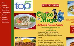 Cinco De Mayo Mexican Grill Deli