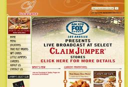 Claim Jumper Restaurant On Brookhurst St In Fountain Valley Ca