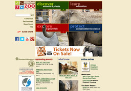 Cleveland Metroparks Zoo & The Rainforest