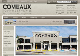 Comeaux Furniture And Appliance Warehouse Outlet On Euphrosine St In