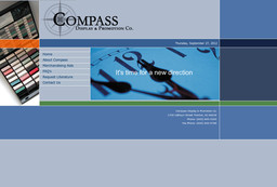 Compass Display & Promotion