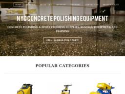 NYC Concrete Polishing Equipment
