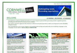 Cornwell Data Services Inc