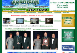 Corrigan Electric and Home Systems