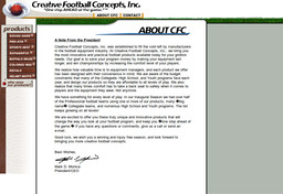 Creative Football Concepts - Inc