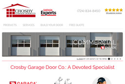 Crosby Garage Door Co On Urania Ave In Greensburg Pa