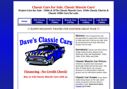 Dave's Classic Cars