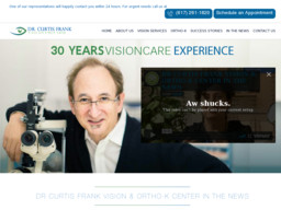 Dr. Curtis Frank Vision and Ortho-K Center