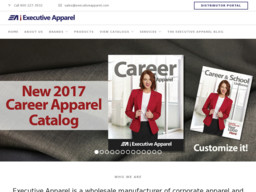 Executive Apparel Uniform Manufacturer