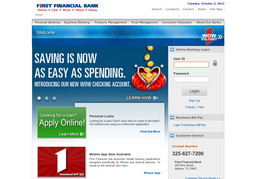 First Financial Bank Na On Willis St In Abilene Tx 325 627 7200