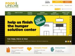 Food Lifeline Second Harvest