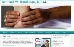 Dr Paul W Hutchinson DPM