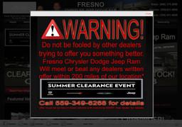 Fresno Chrysler Jeep