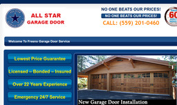 Allstar Garage Door Inc On Westover Ave In Fresno Ca