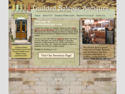 Guilded Salvage Antiques