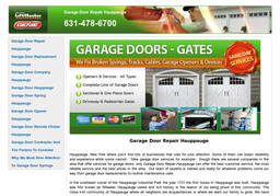 Garage Door Repair Hauppauge On Express Dr In Hauppauge