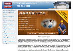 Garage Door Repair Los Angeles On Wilshire Blvd In Los