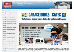 Garage Door Service Santee On Mission Gorge Rd In Santee