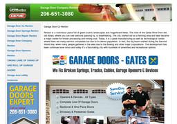 Garage Door Co Renton On Renton Ave In Renton Wa 206