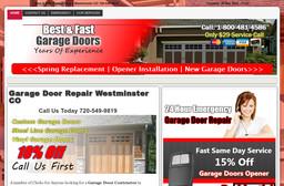 Garage Door Westminster CO