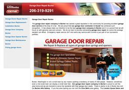 Garage Door Repair Burien On 153rd St In Burien Wa 206
