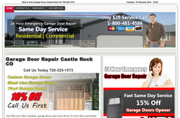 Castle Rock Doors Repair On Castlegate Dr In Castle Rock Co 720