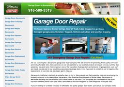 Garage Doors Repair Sacramento On Auburn Blvd In