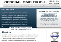 General GMC Truck Sales and Service