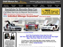 G n motors mbz certified mercedes benz service repair on for Certified mercedes benz service