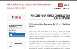 GR Attride Construction & Development