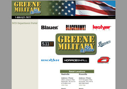 Greene Military