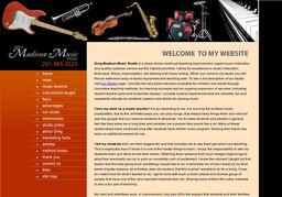 Greg Madison Music Studio