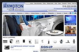 Hampton Major Appliances and Televisions